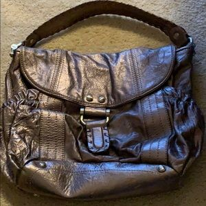 Cool B MAKOWSKY bag. Very cute and edgy.